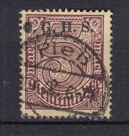 Oberschlesien - 1920 - Dienstmarken - Michel Nr. 20 C III - BPP Geprüft - Gestempelt - Coordination Sectors