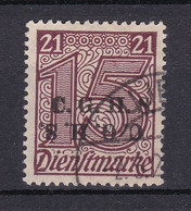 Oberschlesien - 1920 - Dienstmarken - Michel Nr. 3 XI - BPP Geprüft - Gestempelt - Coordination Sectors