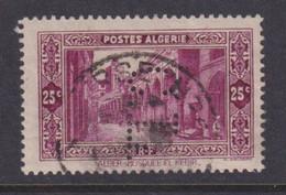 Perforé/perfin/lochung Algérie 1936 No DZ108   S&C Segard Et Cie - Oblitérés