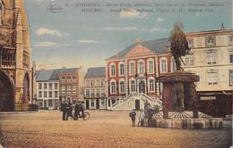 TONGEREN - Groote Markt, Ambiorix, Toren Van O. L. Vrouwkerk, Stadhuis - Tongeren