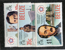 BC 6850 *Offers Welcome* 1976 Sc.374-76 Mnh** - Belize (1973-...)