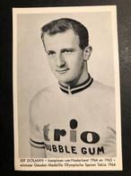 Eef Dolman - Trio Bubble Gum - 1966 - Carte / Card - Cyclists - Cyclisme - Ciclismo -wielrennen - Cycling