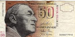 SF+ Finnland 1986 - 50 Markkaa - Finland