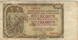 CSR+ Tschechoslowakei 1953 - 100 Korun - Czechoslovakia