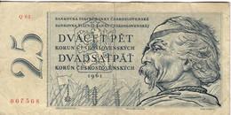 CSR+ Tschechoslowakei 1961 - 25 Korun - Czechoslovakia