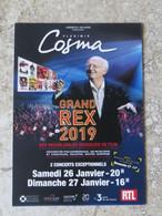CPM Musique VLADIMIR COSMA Concert Cinéma Le Grand REX Paris 2019 - Entertainers