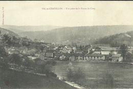 VAL Et CHATILLON  -- Vue Prise De La Route De Cirey                -- Cayet - Altri Comuni