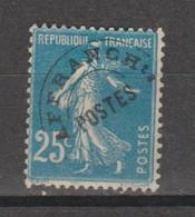 Préo Semeuse Grasse 25c Bleu Type 3 - 1893-1947