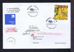 ARRAIOLOS Embroderie TEXTILES Birds Oiseaux Handicraft PORTUGAL Alentejo-Algarve Auto-adhesive Stamp (few Copies) Gc5523 - Textile