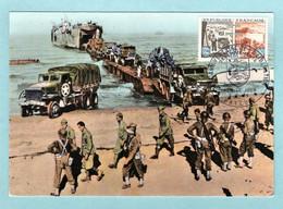 Carte Maximum 1964 -  Débarquement Allié En Normandie - YT 1409 - 14 Bayeux - 1960-69