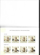 Pitcairn Islands 2009 Charles Darwin Naturalist 2 Sets Of 4 In  Composite Imperforate Proof In Folder - Pitcairn Islands