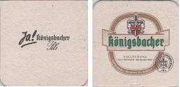 Bierdeckel Quadratisch - Königsbacher - Ja! - Sotto-boccale