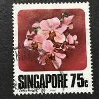 ◆◆◆SINGAPORE  1979  Varieties Of Vanda Hybrids , SC#322  ,   75c   USED   AB6042 - Singapur (1959-...)