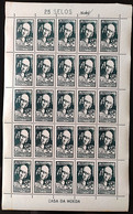 C 350 Brazil Stamp World Medical Congress Of Homeopathy Health 1954 Sheet - Unclassified