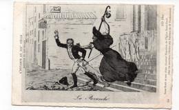 L'ESTAMPE AU XIXe SIÈCLE - Napoléon Et Son époque - La Revanche - Saint Roch Et Son Chien Chasse Napoléon De L'Egli(T53) - Personaggi Storici