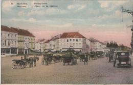 Mechelen - Statieplaats - Oldtimers , Koetsen - H. Holemans, Uitgever Nr 13 - Mechelen