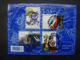 RDB. Ti. 12. 3.  Bloc 123, 2008, N° 4245 à 4248. Grands Projets Européens - Usati