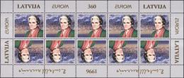 Lettonie - Lettland - Latvia Bloc Feuillet 1996 Y&T N°F387 - Michel N°K423 *** - EUROPA - Lettland