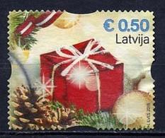 Lettonie - Lettland - Latvia 2015 Y&T N°(6) - Michel N°969 (o) - 0,50€ Noël - Lettland