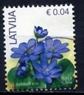 Lettonie - Lettland - Latvia 2019 Y&T N°(2) - Michel N°900 (o) - 0,04€ Anémone Hépatica - Lettland