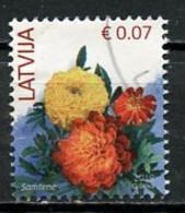 Lettonie - Lettland - Latvia 2019 Y&T N°(3) - Michel N°901 (o) - 0,07€ Dahlia - Lettland