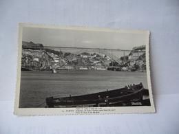 69. PORTO (/ˈpoɾtu/ PORTUGAL PONTE D. LUISS I VISTA DO CAIS CPSM FORMAT CPA 1958 COLECAO PASSEPORTE LOTY - Porto