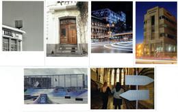 Bruxelles - Lot De 6 CPM - Art Urbain - Urban Brussels - Ohne Zuordnung