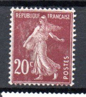 S2-3 France N° 139 ** à 10 % De La Côte !!! - 1906-38 Säerin, Untergrund Glatt