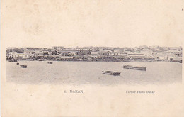 BE17-  SENEGAL  DAKAR  VUE DU PORT CPA  PRECURSEUR - Senegal