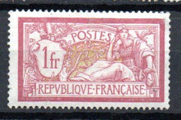 S2-3 France N° 121 ** à 10 % De La Côte A Saisir  !!! - 1900-27 Merson
