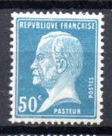 S2-3 France N° 176 **  à 10 % De La Côte A Saisir  !!! - 1922-26 Pasteur