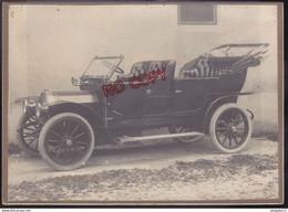 Au Plus Rapide Photo Voiture Ancienne Unic Puteaux Grand Format Excellent état - Automobile