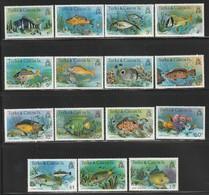 TURKS & CAICOS - N° 412/26  ** (1978-9)  Poissons - Turks- En Caicoseilanden