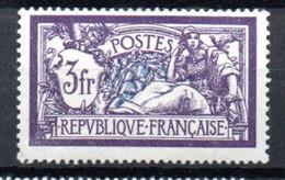 S2-3 France N° 206c **  à 10 % De La Côte A Saisir  !!! - 1900-27 Merson