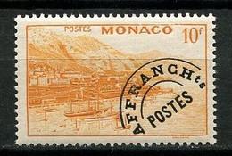 MONACO  1948 Préoblitérés  N° 5 ** Neuf MNH Superbe C 42 € Rade Et Vue De Monte Carlo Bateaux Sailboat - Prematasellado