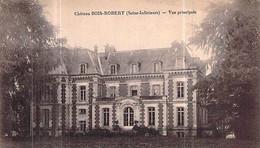 Cpa 76] Seine Maritime Château De Bois Robert - Other Municipalities