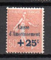 S2-3 France N° 250 ** à 10 % De La Côte A Saisir  !!! - Caisse D'Amortissement