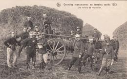 Grandes Manoeuvres En Terrain Variés 1913, Une Voiture De Réquisition - Maniobras