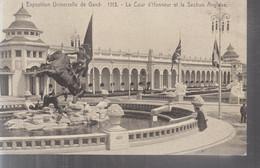 Gand (Exposition Universelle De 1913) - La Cour D'Honneur Et La Section Anglaise - Gent