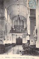 Cpa 76] Seine Maritime Bolbec Intérieur De L'église Saint Michel Les Orgues 1905 - Bolbec