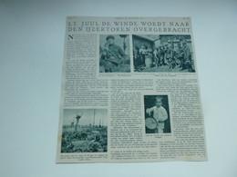 """Origineel Knipsel ( 3852 ) Uit Tijdschrift """" De Stad """" 1937 :  Soldaat Juul De Wilde  Merchtem  Westrozebeke - Ohne Zuordnung"""