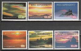 ANTARCTIQUE - ROSS 1999 Couchers De Soleil - Yv. 66/71 ** - Unused Stamps