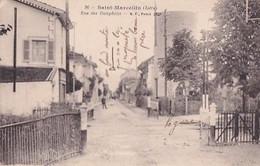 SAINT MARCELLIN                    RUE DES DAUPHINS              PASSAGE A NIVEAU - Saint-Marcellin