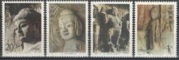 CHINE 4 Timbres Neuf **sans Charnière.. Année 1993 N° 3180 à 3183 - Sculptures Des Grottes De Longmen - Unused Stamps