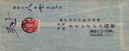 JAPÓN , SOBRE CIRCULADO - Cartas