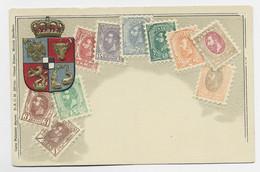 ROMANIA ROUMANIE   CARTE CARD  GAUFFREE - Covers & Documents