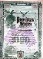 Banco Central Mexicano En 1905 - Banca & Assicurazione
