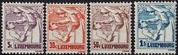 Luxembourg, Luxemburg 1925 Lutte Contre La Tuberculose Série Neuf MH* Valeur Catalogue:3,50€ - Ongebruikt