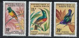 Haute-Volta YT 138-140 Neuf Sans Charnière - XX - MNH Oiseau Bird - Upper Volta (1958-1984)
