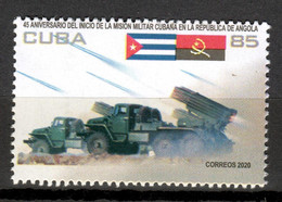 Cuba 2020 / Military Mission In Angola MNH Misión Militar En Angola / Cu18020  C4-16 - Nuevos